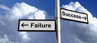 Success and Failure Direction Markers